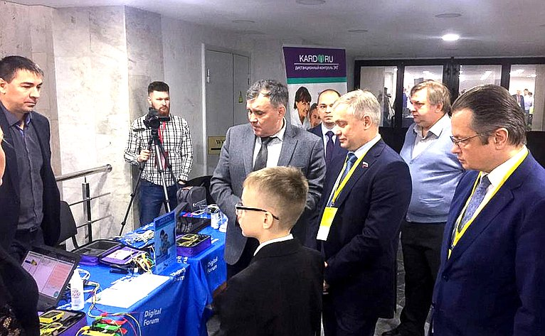 Ильдус Ахметзянов принял участие вМеждународном Форуме поцифровой медицине