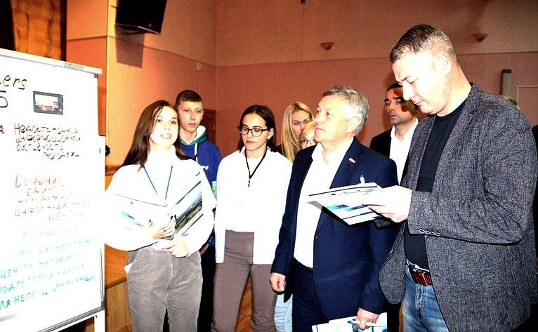 Сергей Михайлов принял участие взакрытии установочной сессии федерального проекта «Кадры будущего» вЧите