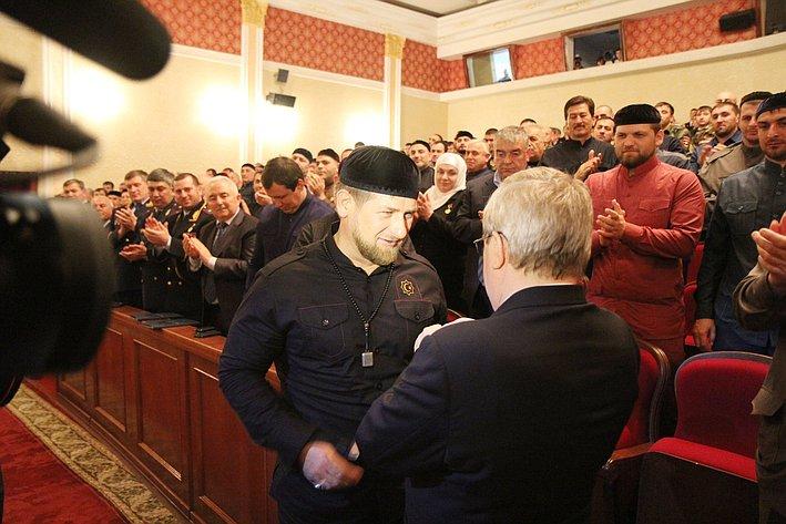 Александр Торшин посетил ЧР 3