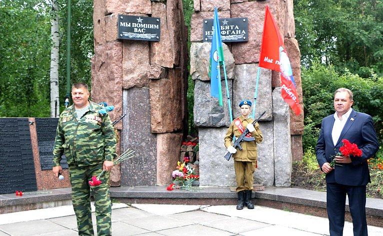ВАрхангельске намемориальном комплексе впамять опогибших влокальных конфликтах установят еще один памятный знак
