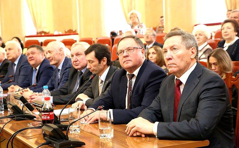 Торжественное собрание, посвященное 25-летию регионального парламента