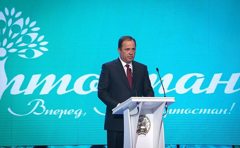 Представитель Президента Российской Федерации вПриволжском федеральном округе Игорь Комаров