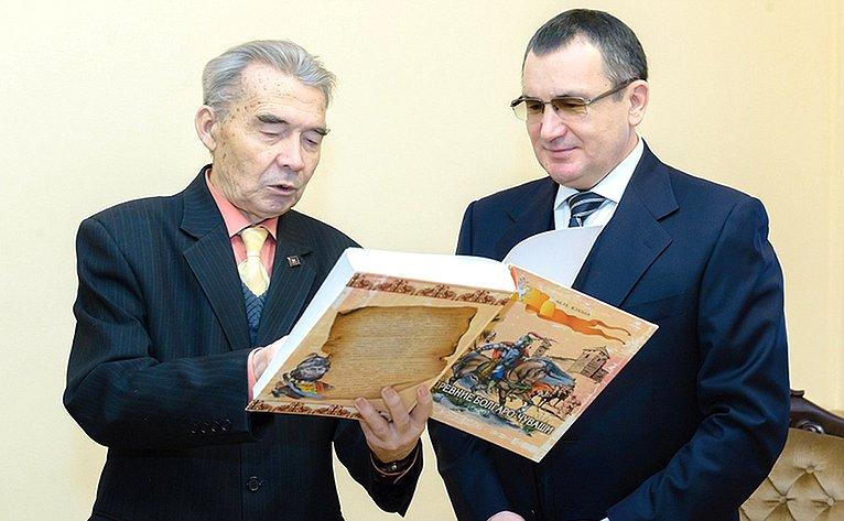 Н. Федоров вЧувашии