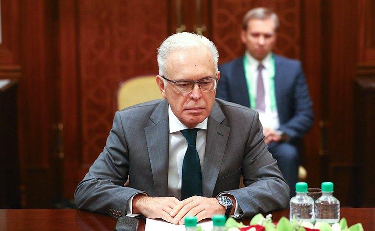 Генеральный секретарь Совета МПА СНГ А. Сергеев
