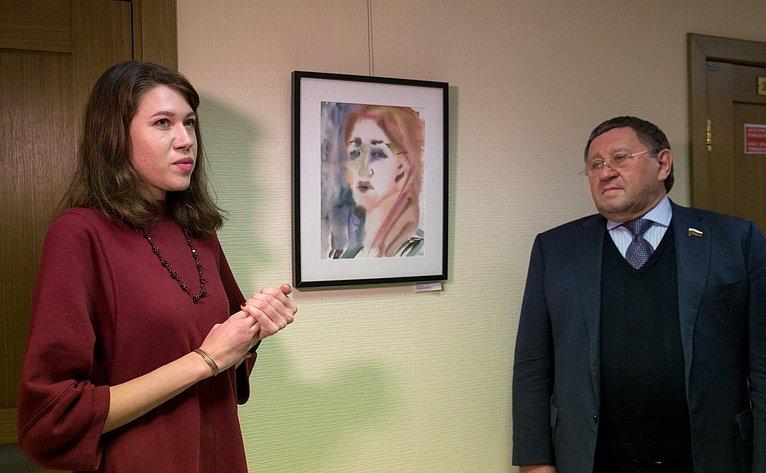 Выставка «Лицо человека» вСовете Федерации