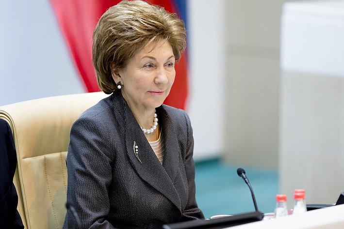 Г. Карелова 371-е заседание Совета Федерации