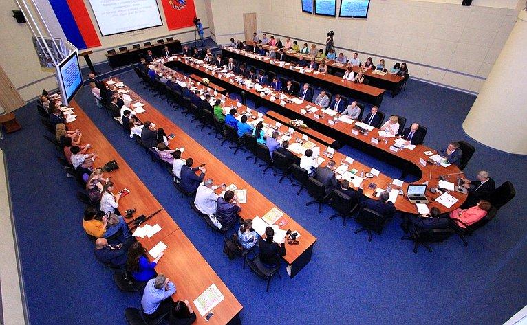 Проходит выездное заседание Комитета СФ помеждународным делам