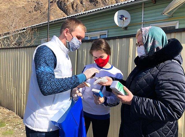 Волонтерское движение вРеспублике Алтай продолжает набирать силу