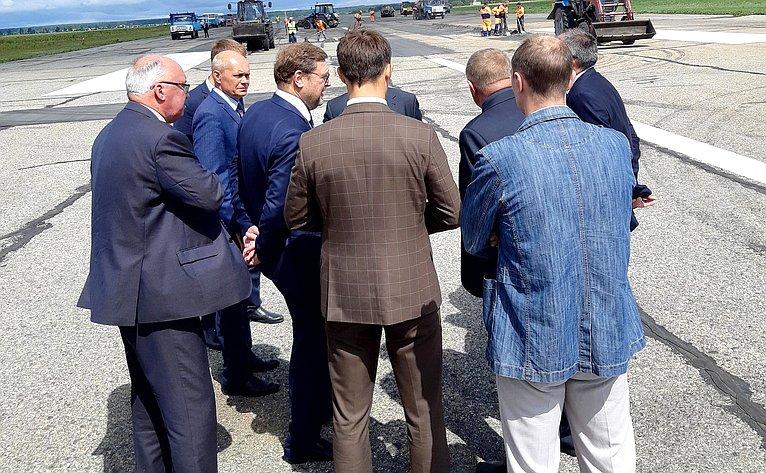 Константин Косачев принял участие всовещании повопросам возобновления воздушного пассажирского сообщения изстолицы Республики Марий Эл