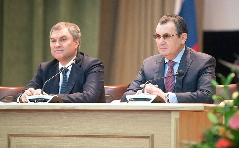 Николай Федоров иВячеслав Володин