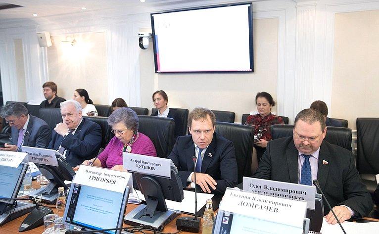 «Круглый стол», посвященный обсуждению вопросов процесса развития ифункционирования городских агломераций