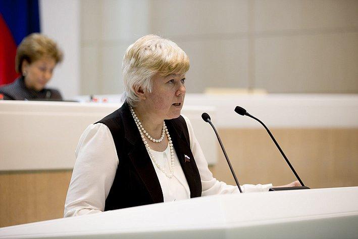 Тимофеева 380-е заседание Совета Федерации
