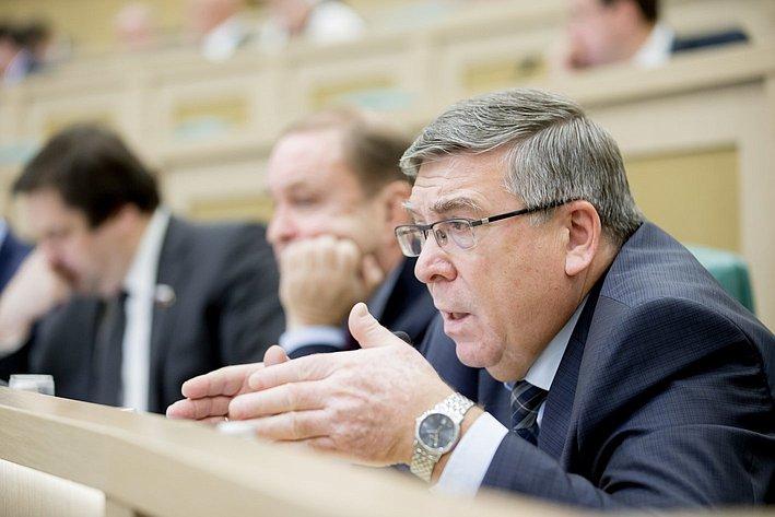 Рязанский 380-е заседание Совета Федерации