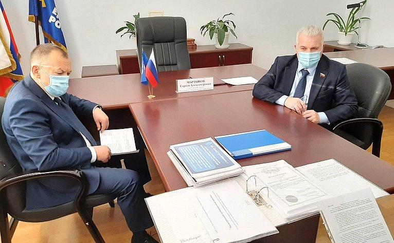 Сергей Мартынов провел прием граждан вЙоркар-Оле