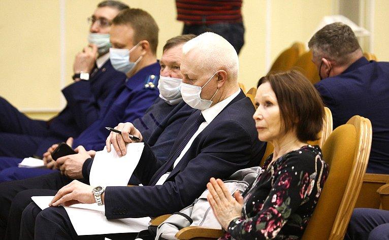 Выездное заседание межведомственной рабочей группы посовершенствованию лесного законодательства РФ