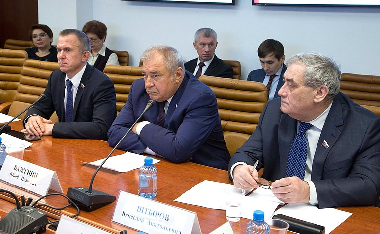 Заседание Временной комиссии СФ помониторингу экономического развития России