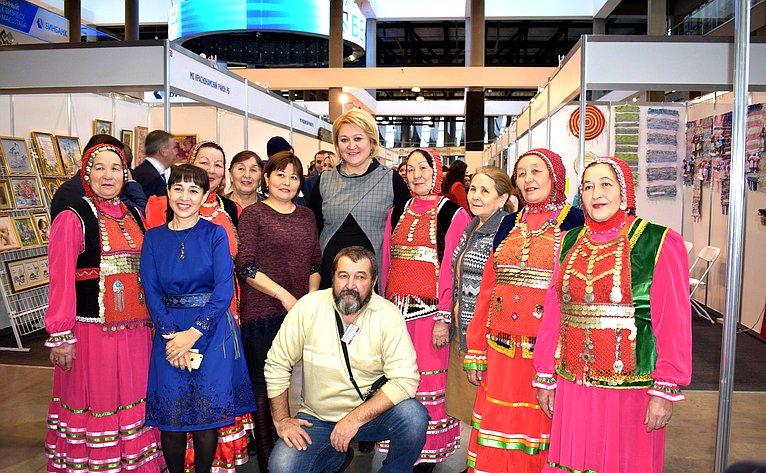 Открытие выставки народных промыслов иремесел вУфе