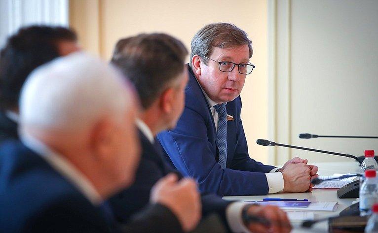 Заседание комиссии Совета законодателей поаграрно-продовольственной политике, природопользованию иэкологии