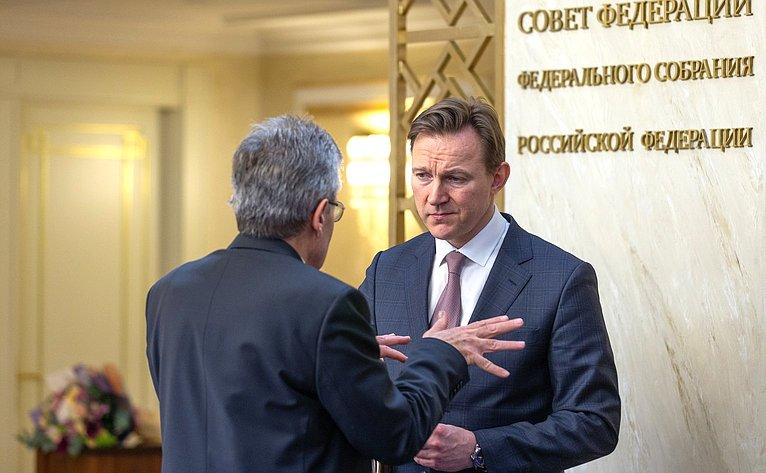 Заседание правления Интеграционного клуба при Председателе СФ