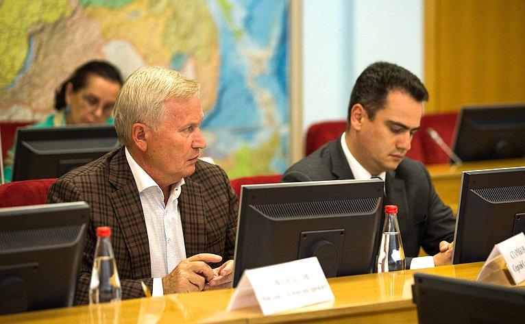 Совещание посоциально-экономическому развитию Ставропольского края
