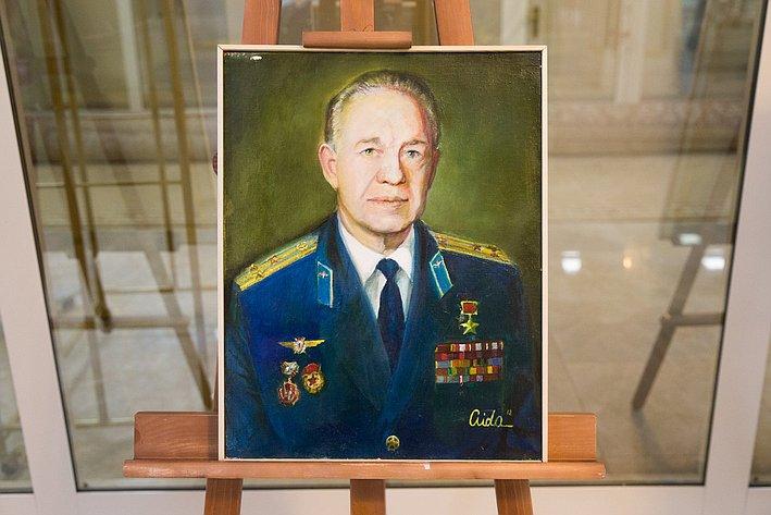 Выставка портретов ветеранов-героев Великой Отечественной войны в Совете Федерации