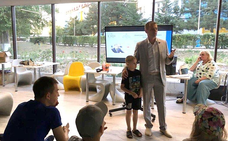 Дмитрий Шатохин встретился сучастниками летней смены проекта врамках Дня Республики Коми