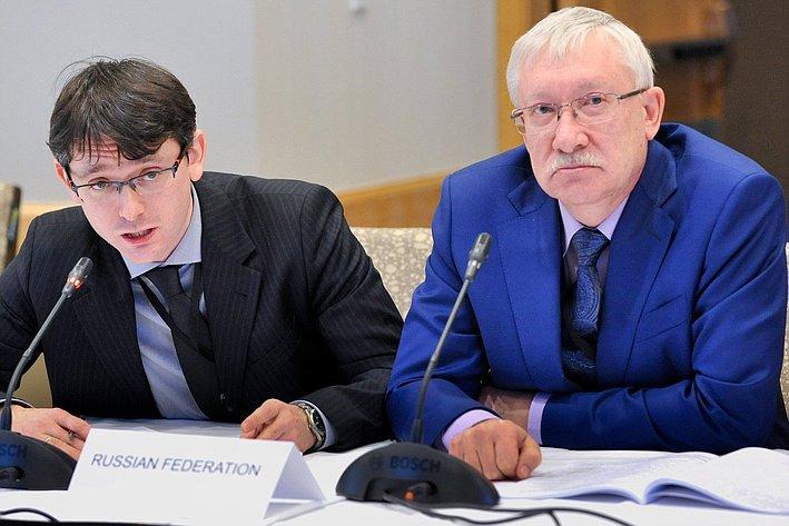 О. Морозов на24-й сессии АТПФ вВанкувере (Канада)