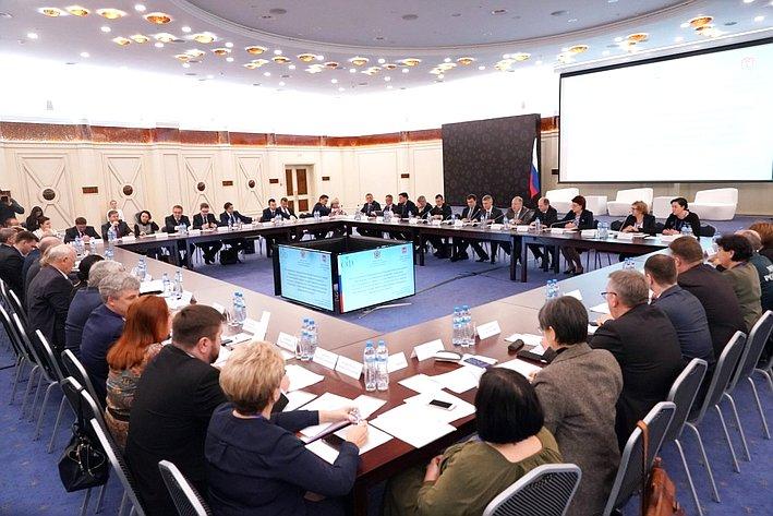 Рабочая поездка членов Временной комиссии СФ посовершенствованию правового регулирования всфере государственного контроля (надзора) имуниципального контроля вРоссийской Федерации спредставителями субъектов РФ