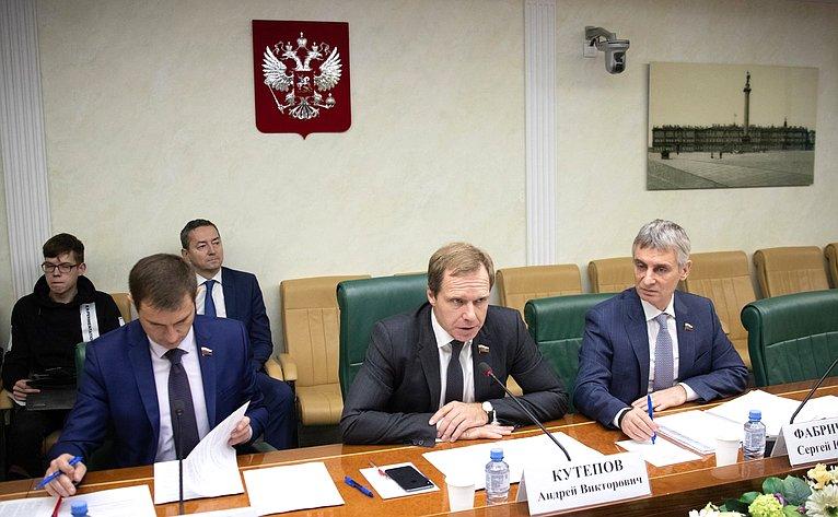 Совещание Комитета СФ поэкономической политике