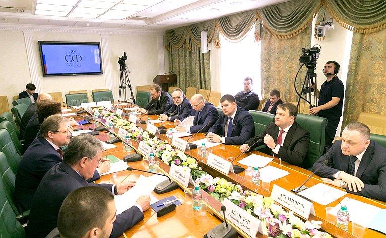 Назаседании Комитета поддержки жителей Юго-Востока Украины
