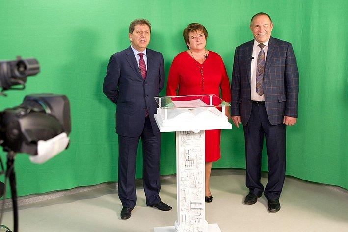 Л. Глебова посетила церемонию торжественного открытия Медиа центра ННГУ им. Н.И. Лобачевского