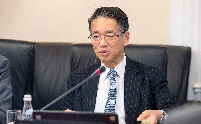 Встреча К. Косачева сПослом Японии вРФ