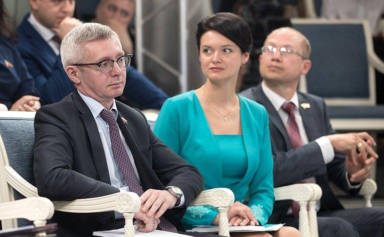 Валентина Матвиенко провела встречу счленами иэкспертами Палаты молодых законодателей при Совете Федерации