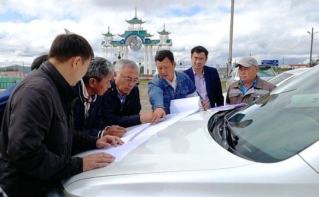Баир Жамсуев принял участие врабочей поездке пообъектам городского округа «Поселок Агинское» Забайкальского края