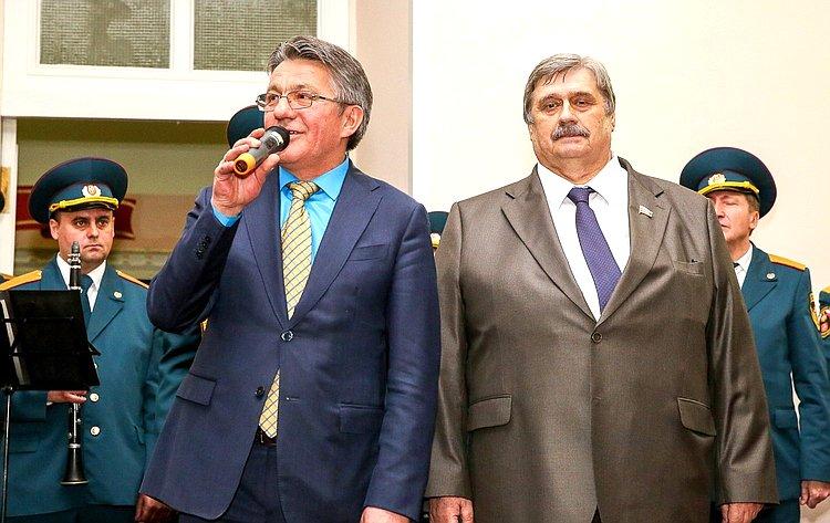 М. Козлов иВ. Озеров приняли участие вчествовании 100-летнего юбилея ветерана Великой Отечественной войны В.Зибарева