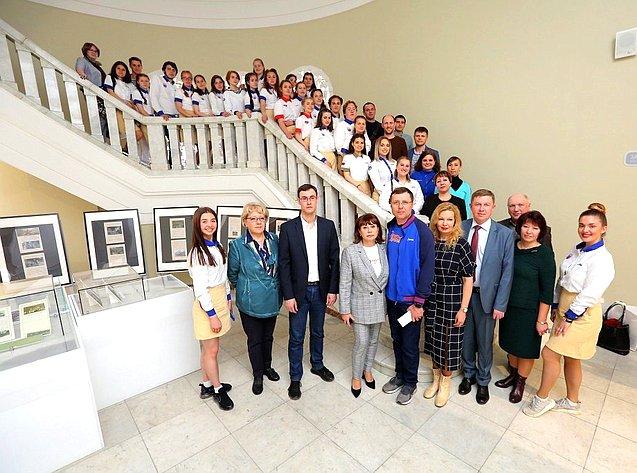 Игорь Каграманян всанатории Евпатории встретился ссемьями ярославцев