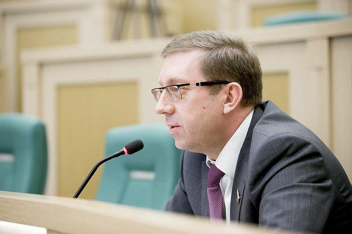 373-е Заседание Совета Федерации Майоров
