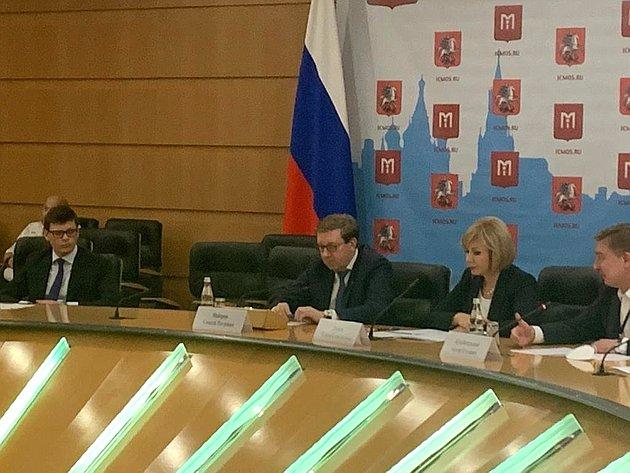Алексей Майоров иЕлена Зленко приняли участие впресс-конференции, посвященной проведению II Всероссийского конкурса «Надежный партнер– Экология»