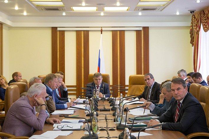 Заседание Комитета СФ по международным делам
