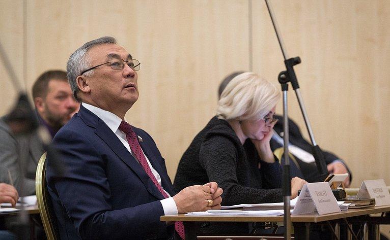 Б. Жамсуев наоткрытии XXI Международного форума «Технологии безопасности»
