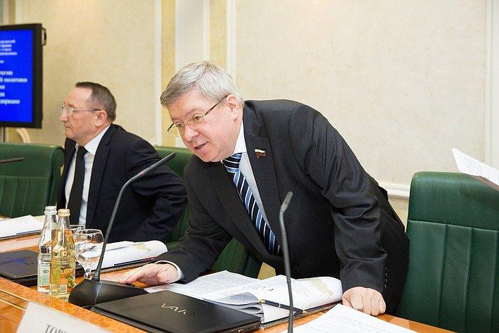 Заседание Президиума Совета законодателей РФ и Консультативного совета по межнациональным отношениям -6 Александр Торшин
