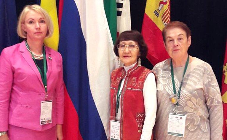 Ирина Гехт приняла участие вработе 28-й Международной конференции Всемирной ассоциации сельских женщин «Работать сообща ради лучшего будущего»