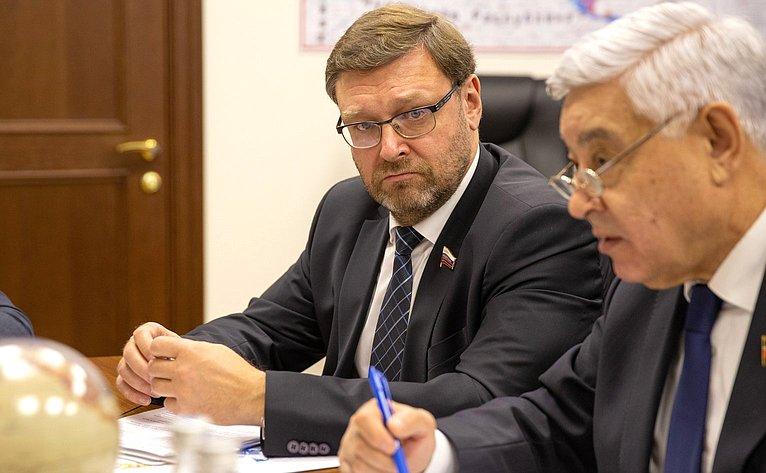 Константин Косачев иФарит Мухаметшин
