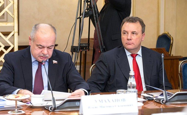 Ильяс Умаханов иАртур Муравьев