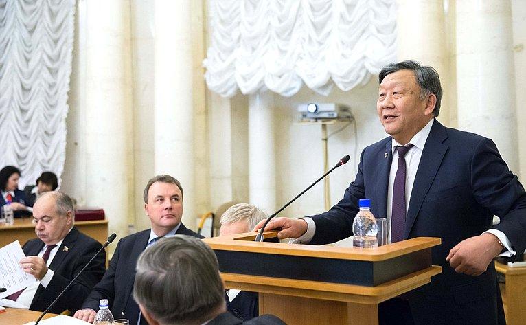 Совместное заседание Совета палаты иПрезидиума Российской академии наук