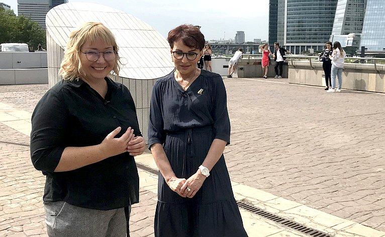 Татьяна Кусайко выступила спикером втелепрограмме натему «Роль клинических рекомендаций всистеме стандартизации медицинской помощи»