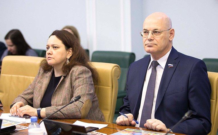 Анна Отке иИгорь Круглый