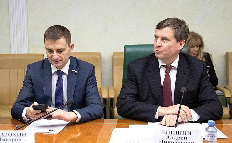 Дмитрий Шатохин иАндрей Епишин
