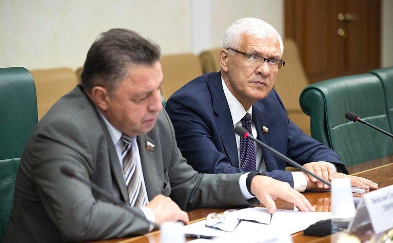 Вячеслав Тимченко иСергей Брилка