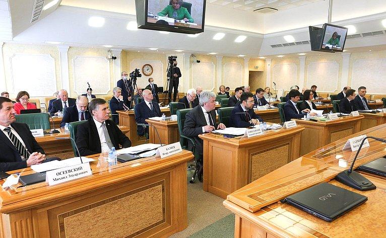 Заседание Научно-экспертного совета натему «Развитие цифровой среды вРоссийской Федерации как пространства безопасности, верховенства права иустойчивого развития»